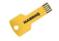 USB flash printing USB267 metal key gold