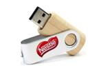 USB flash wooden USB001